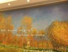 通州儿童房沙发背景玄关_手绘涂鸦_3D手绘墙画壁画