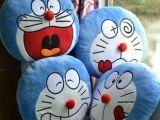 厂家直销 机器猫卡通抱枕暖手抱枕靠垫暖手筒毛绒玩具