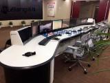 指挥中心控制台设计方案 人体工学控制台生产厂家