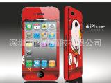 时尚iphone个性贴膜 苹果手机彩贴 可爱卡通贴膜 手机彩膜