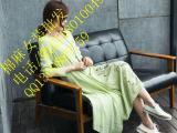 棉麻服装库存批发低价提供时尚优质品牌