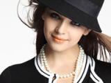 2013最新流行羊毛呢钟型帽 羊毛帽 coco小姐 羊毛呢帽 复