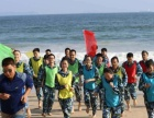 大亚湾霞涌拓展旅游二天,霞涌海滩拓展训练,团队活动