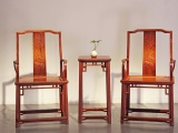 一對緬甸花梨座椅價格