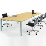 厂家定制办公家具洽谈桌 新款简约时尚板式会议桌钢架会客桌批发