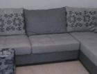 99成新 超舒服布艺沙发因乔迁新居 低价转让 可当床