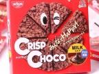 日本进口食品日清Clsco牛奶巧克力麦脆批90g*12盒/箱