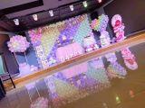 天津生日气球布置抖音网红生日气球装饰