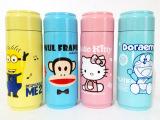 爆款卡通可乐杯 大嘴猴保温杯叮当猫水杯便携水杯易拉罐保温杯