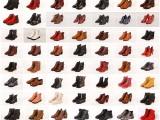 温州女鞋好品质时装秋冬短靴二棉鞋库存杂款鞋批发处理