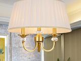 新品/全铜欧式吊灯创意现代客厅卧室餐厅灯 酒店工程灯饰灯具