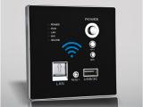 墙壁嵌入式无线路由器酒店3G无线AP无线WIFI电脑USB充电插