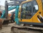 二手沃尔沃210B挖掘机