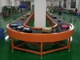 流水线输送带传送机伸缩机滚筒输送机食品生产线转弯机快递分拣线