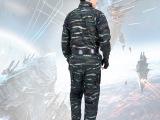 爆款批发 07特战虎斑夏装特战服 防静电防辐射配耐磨迷彩套装