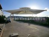 供应高档全铝合金架侧立伞户外遮阳侧立伞 单边罗马伞