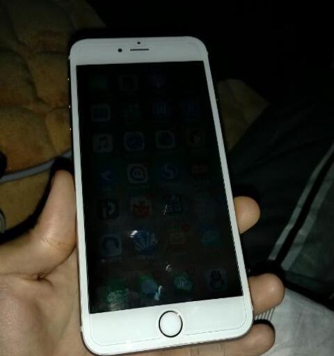 出台自用92新苹果6sP金色全网64G美版