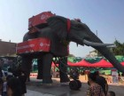 大型机械大象出租巡游必备仿真机械大象租赁形态逼真机械大象出租