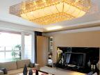 客厅灯长方形水晶灯具大厅灯欧式led水晶吸顶灯饰特价工程灯2623