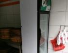 8成新立式冰箱(正面玻璃)700甩卖