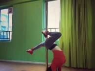 雅安ME华翎钢管舞空中舞蹈专业成人零基础舞蹈培训