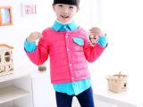 童装微信货源一件代发代销品牌免费厂家韩版冬装女童装羽绒服