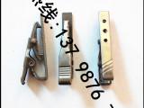 (厂家定制)黑色五金夹 夹子配件 有纹夹金属夹子