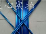 1060纯铝管 6063合金铝管 氧化喷砂铝管  铝材加工定制