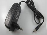 厂家直销电源适配器12V2A 显示器电源 LED灯插墙式充电器