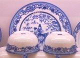 陶瓷碗碟盘套装餐具厂家批发图片加工酒店陶瓷餐具订单定做生产