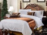百年新业酒店布草床上用品全棉提花被套厂家