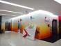 福田中国港中旅大厦附近广告招牌字LOGO玻璃贴膜喷绘上门服务