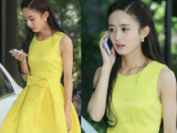 厂家直销2014春夏新款韩版韩国东大门明星同款蝴蝶结女装连衣裙
