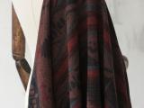 波斯米亚风 异国风情 羊毛粗纺毛呢西装马