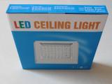 厂家直销新款吸顶灯外壳套件 led厨卫吸顶灯外壳灯罩 塑料外壳