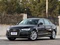 洛阳新款奥迪A6L黑色舒适版车商务或婚庆出租