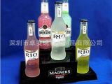 亚克力红酒陈列架 酒水展示架 亚克力制品 有机玻璃宣传品 直销