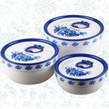 507青花圆形小号保鲜盒