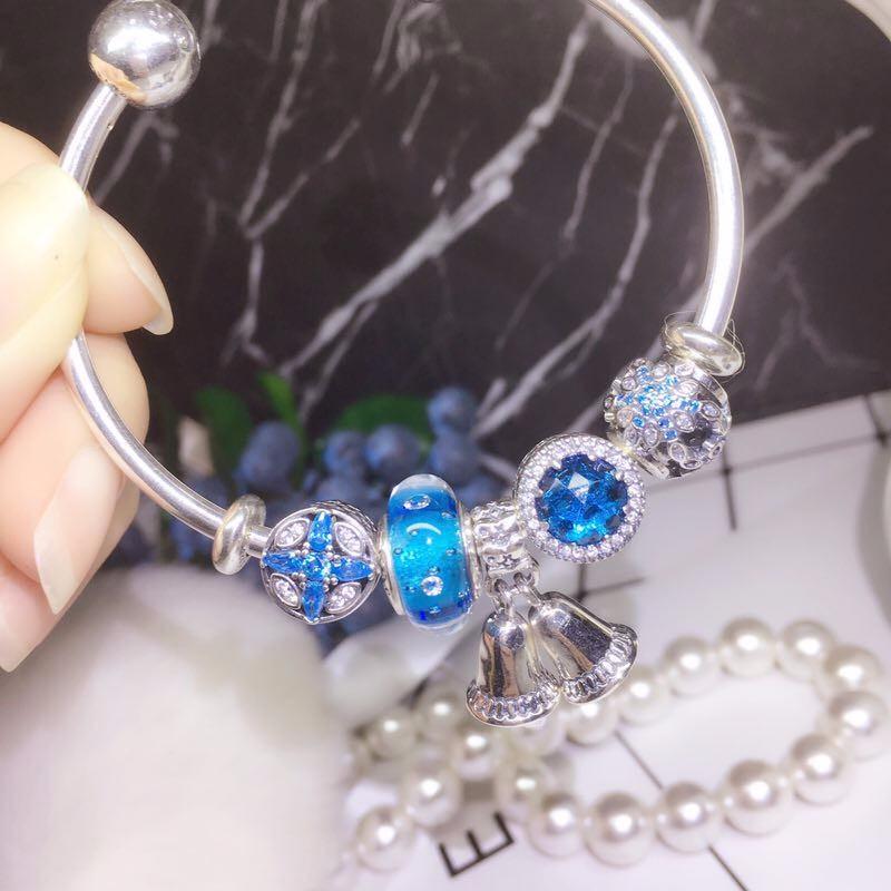 纯银饰品一比一潘多拉宝格丽项链货源一件代发