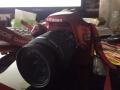 红色佳能 单反相机 1100D 套机