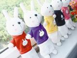 毛绒兔子笔袋 活动赠品 儿童创意文具 韩版学生卡通文具袋批发