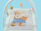 厂家直销出口欧洲全棉环保宝宝儿童婴儿挂铃玩具游戏垫