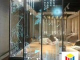 台州内雕导光玻璃