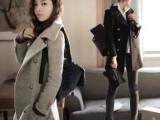 欧洲站2014秋冬新款女装呢大衣韩版呢子羊毛大衣