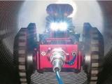 CCTV管道检测机器人的使用特征