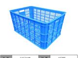 蔬菜配送塑胶周转箱 超市水果筐 周转箩 物流分拣筐塑料周转筐