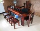 老船木茶桌 创意 流水功夫茶台中山船木家具工厂定做
