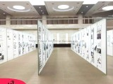 江西南昌书画展展架 湖南长沙学校挂画展板 广州展示屏风展架