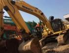 私人二手小挖掘机转让二手小松350挖掘机昆山掘胜挖机市场