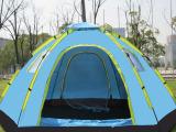 户外野营全自动帐篷 旅游帐篷 3-4 6-8多人免搭建六角大帐篷